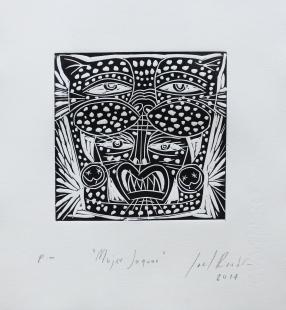 """""""Mujer Jaguar"""" Joel Rendón"""